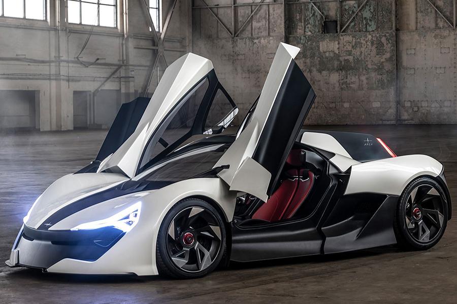 Apex AP-0 ist ein 650-PS-Supersportwagen mit holographischer Fahrerassistenz
