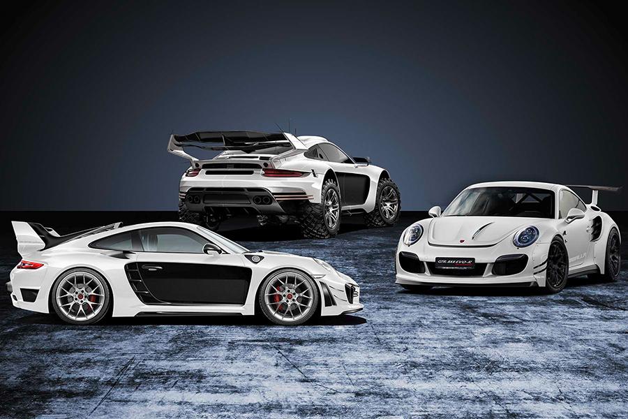 Robustes Porsche 911 Bodykit