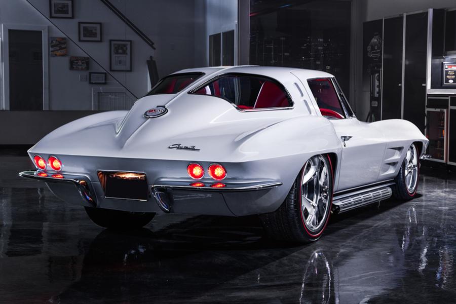 1963 Chevrolet Corvette Custom Fahrzeug zurück