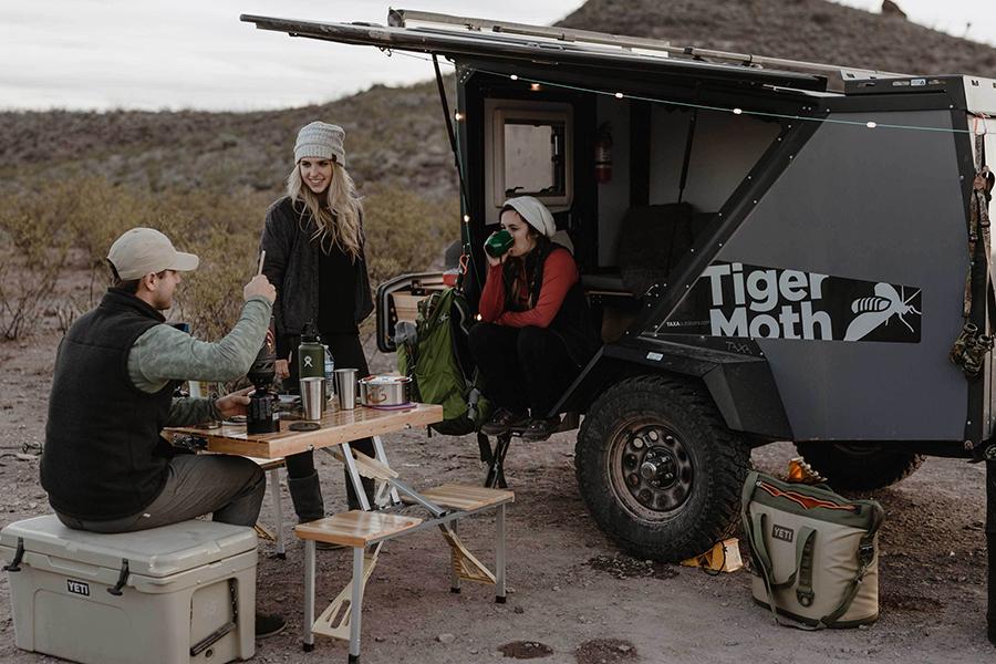 2020 Tiger Moth Camper ist ein Basislager für jedes Auto