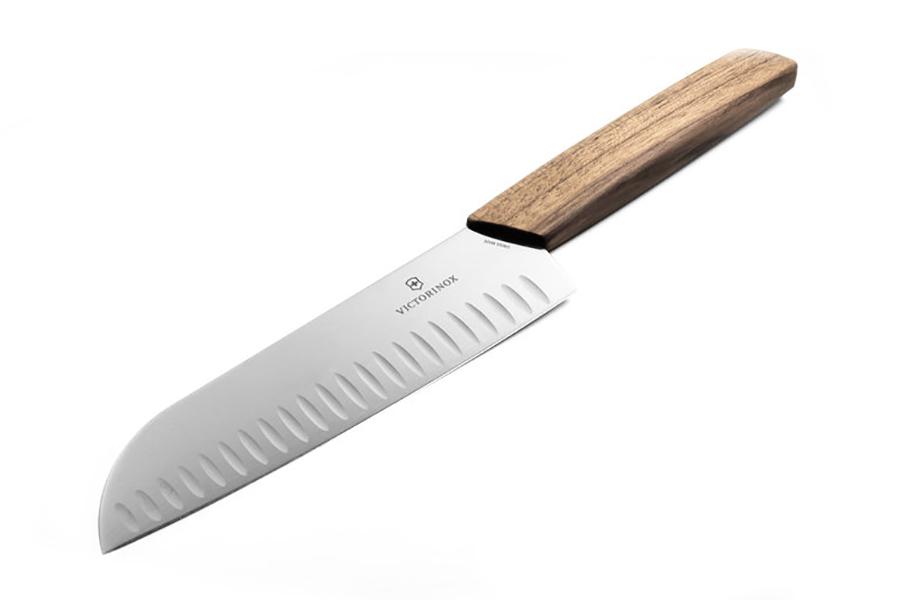 Victorinox Santoku Küchenmesser Melds japanisches Design mit Schweizer Handwerkskunst