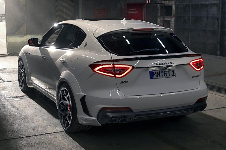 Das ESTESO-Kit von NOVITEC steigert die HP To 624 des Maserati Levante SUV