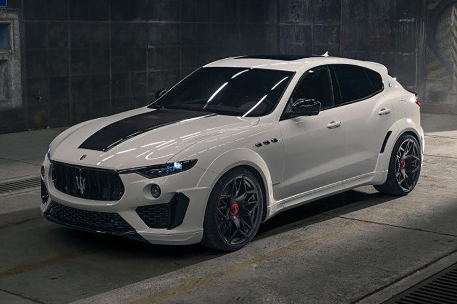 Novitec erweitert den Maserati Levante mit Esteso Kit um 624 PS