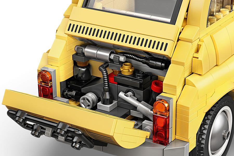 Lego Fiat 500 Motor