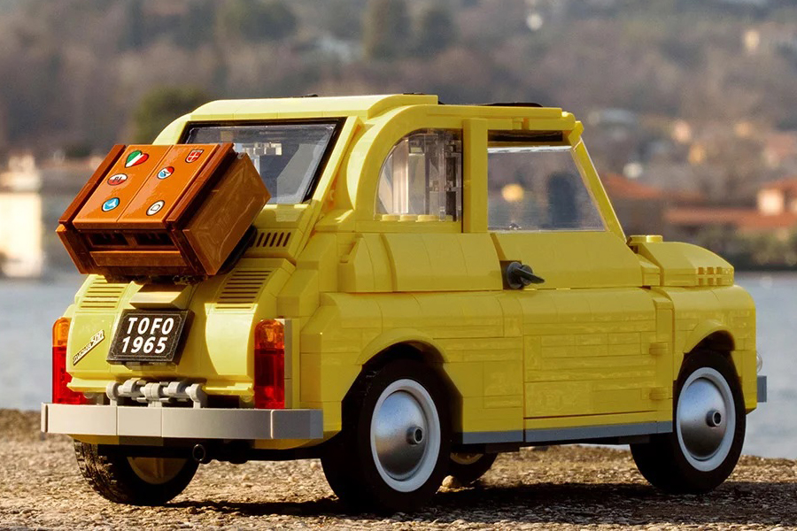 Lego Fiat 500 Rückansicht