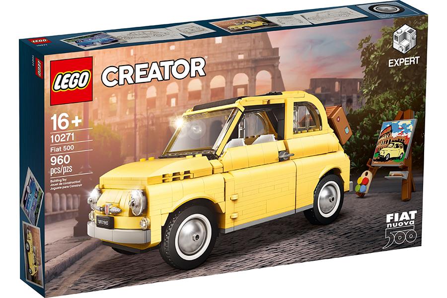 Lego Fiat 500 Box