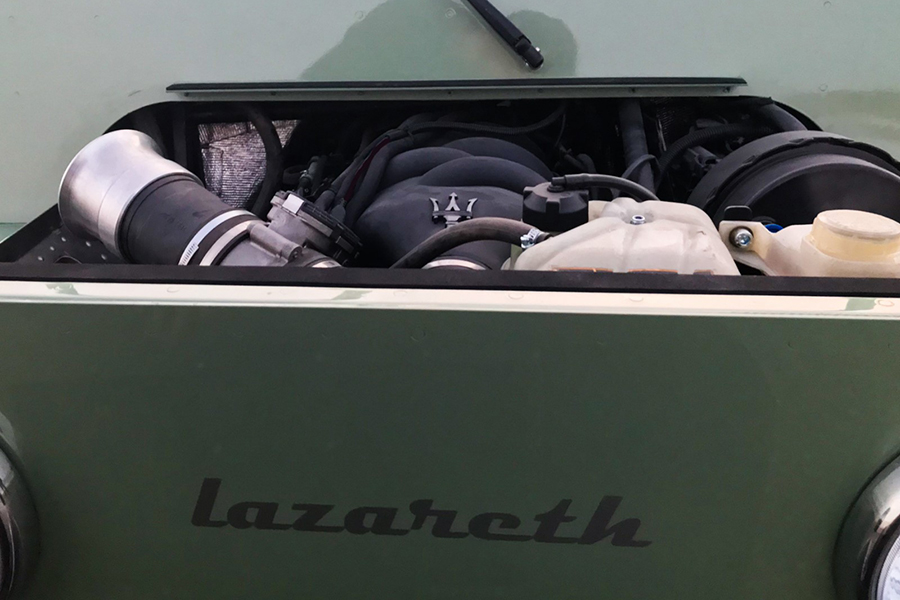 Mini V8M von Lazareth Motorraum