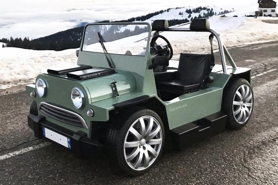 Lazareths Mini Moke V8M sieht aus wie ein erwachsener Hot Wheels V8