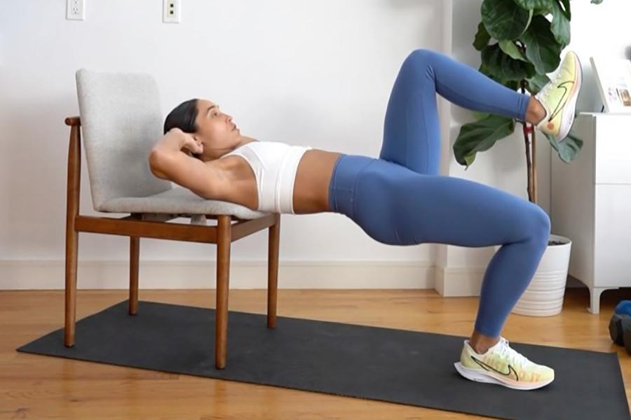 7 Minuten Training mit Stuhl