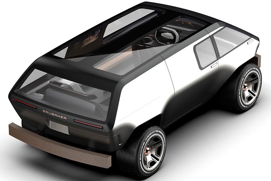 Brubaker Box Minivan Fahrzeug