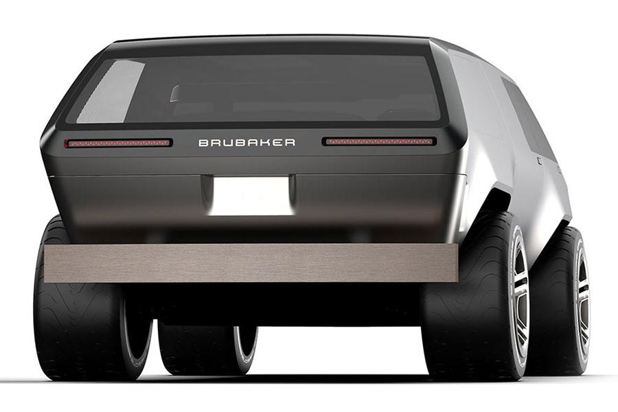 Brubaker Box Minivan zurück