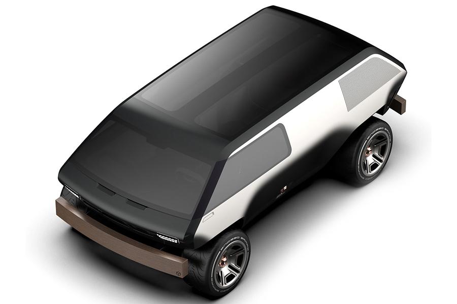 Brubaker Box Minivan Draufsicht