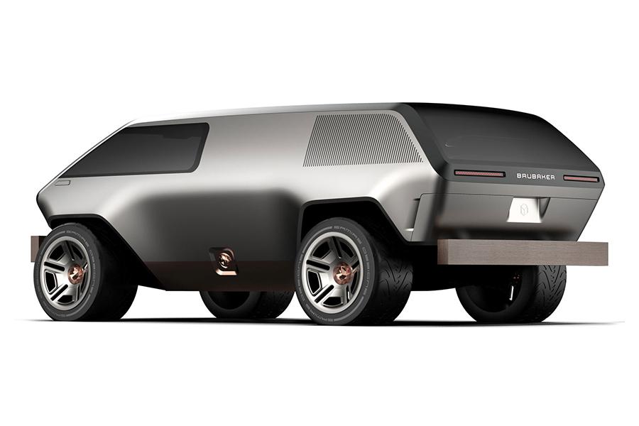 Brubaker Box Minivan Rückansicht