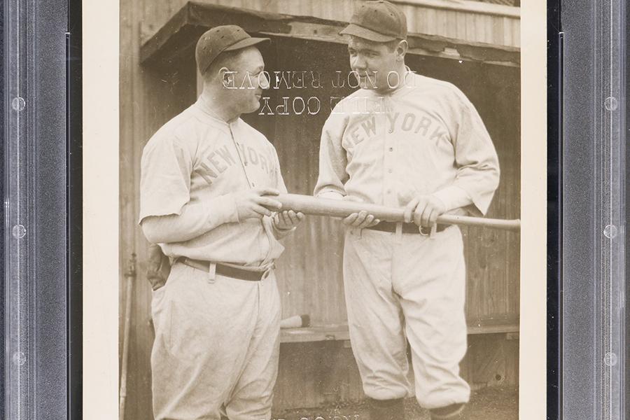 Elite Rare Babe Ruth Ty Cobb Anfängerkarten