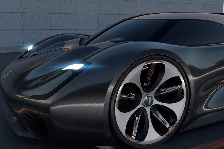Koenigsegg Konigsei Concept Car Rad