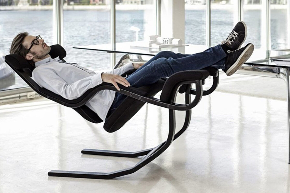 Arbeiten Sie schwerelos mit dem Zero Gravity Balans Chair