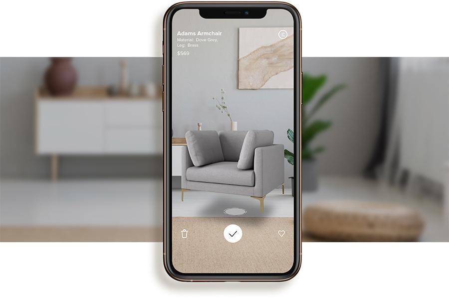 Gestalten Sie Ihr Traumhaus virtuell mit der neuen Castlery AR App