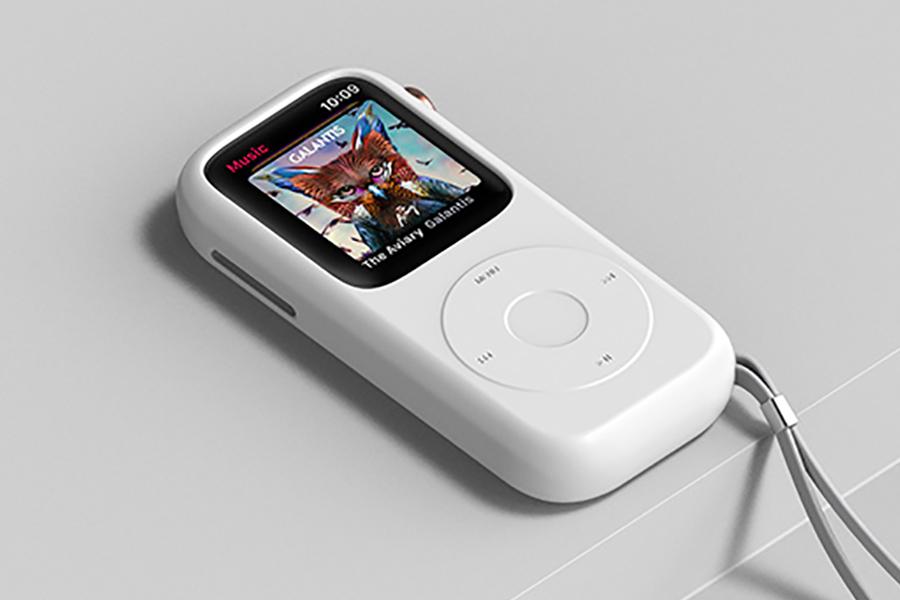 Pod Case für Apple Watch Platz in der Tabelle