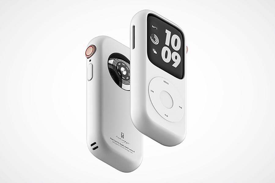 Pod Case für Apple Watch Seitenansicht