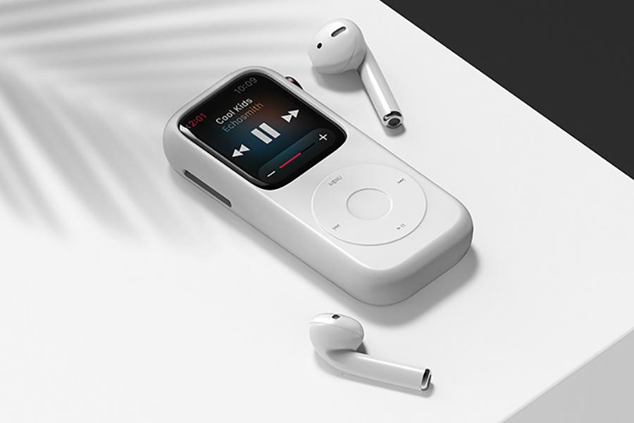 Dieses Pod-Gehäuse-Konzept verwandelt Ihre Apple Watch in einen Retro-iPod