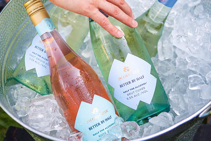 Jacob's Creek erweitert sein Angebot um kalorienarme Weine mit niedrigem Alkoholgehalt