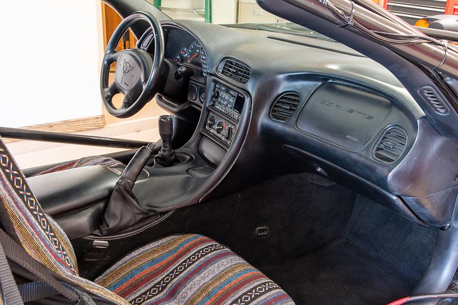 1999 Chevrolet Corvette Buggy Armaturenbrett und Lenkrad
