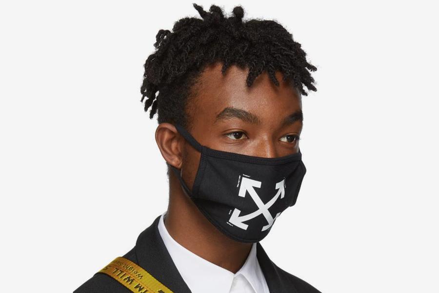 Off White Face Mask ist offiziell das heißeste Accessoire der Mode