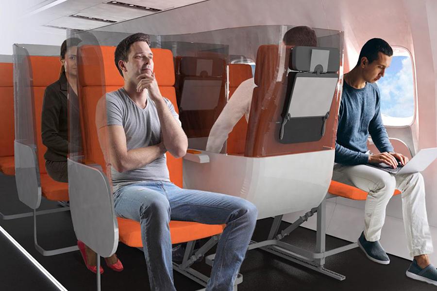Könnte dieses Flugzeugdesign die Zukunft des Post-COVID-Fliegens sein?
