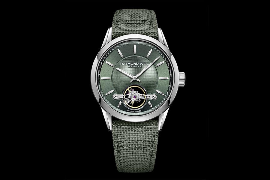 Raymond Weil Freelancer Green Edition Uhr