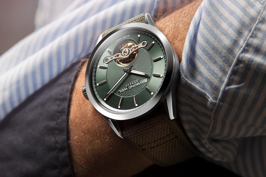 Raymond Weil Freiberufler RW1212 Green Edition