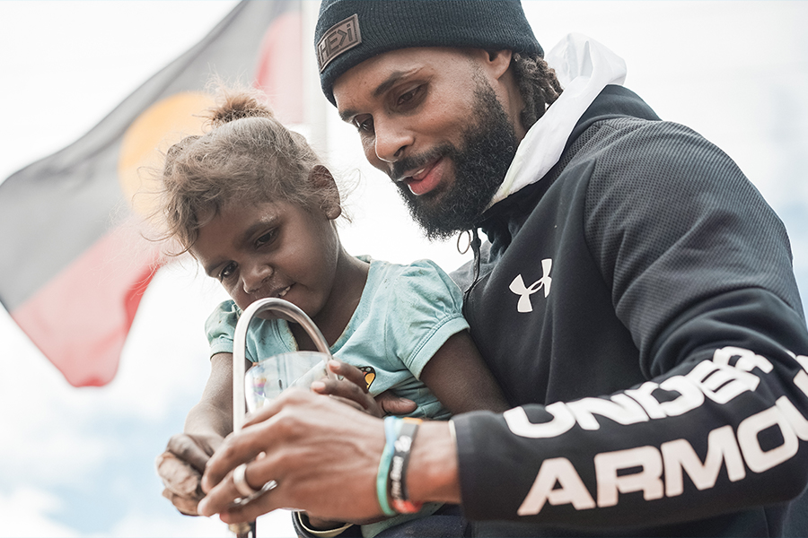 Patty Mills gründet die Team Mills Foundation