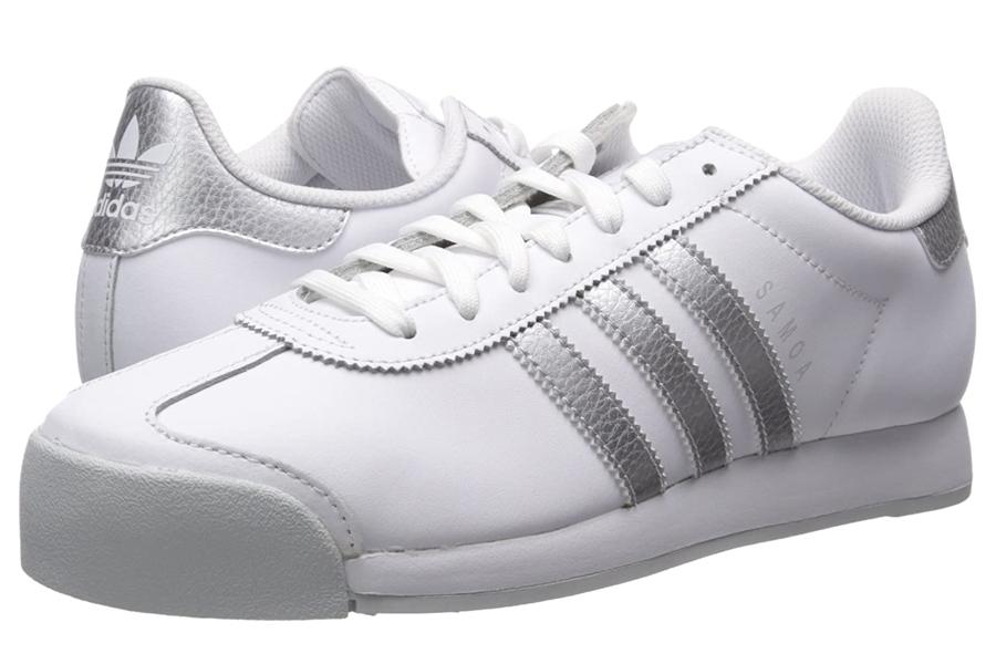 Adidas Originals Samoa Retro Weiße Turnschuhe