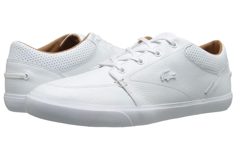 Lacoste Bayliss Vulc Premium Weiße Turnschuhe