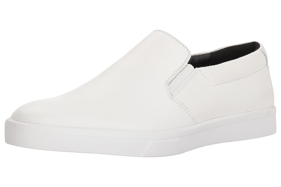 Calvin Klein Herren ivo Loafer Weiß