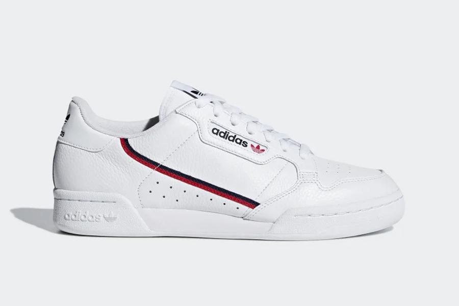 Adidas Continental 80 weiße Turnschuhe