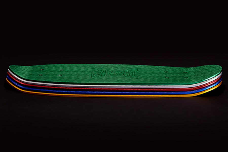 Banzai Skateboard Farbvarianten