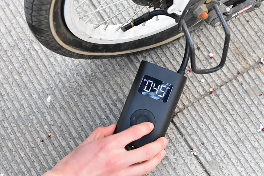 Mijia Mini Inflator Fahrrad