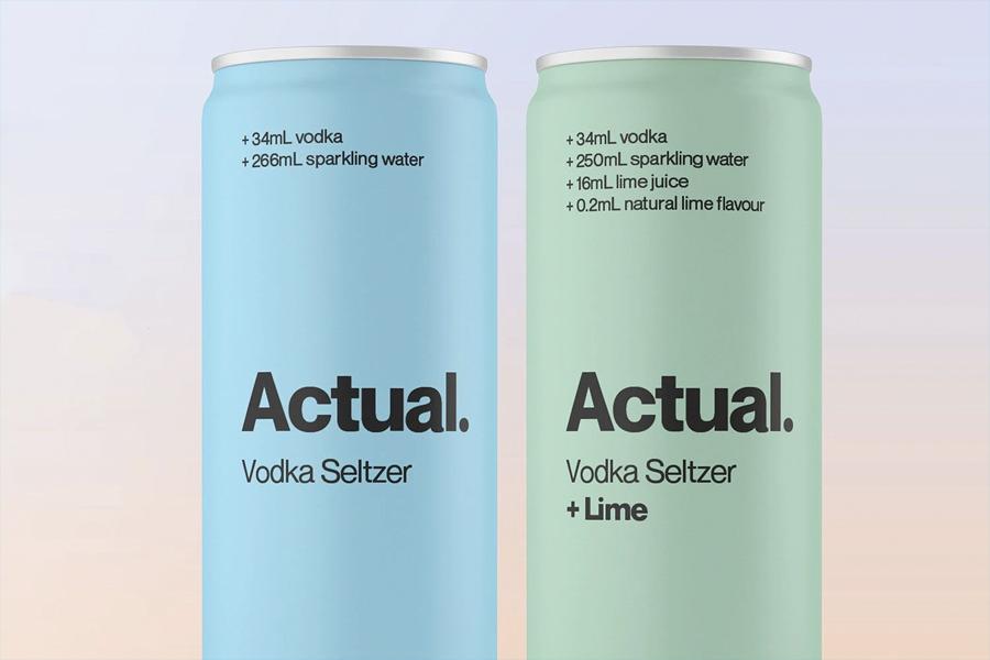 Tatsächlicher Wodka Seltzer 1