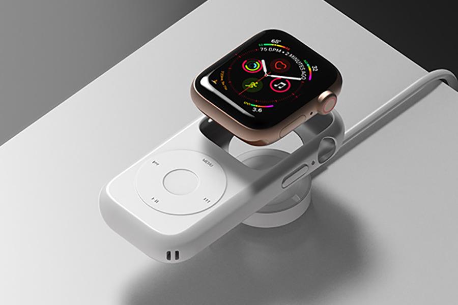 So befestigen Sie das Pod Case für die Apple Watch