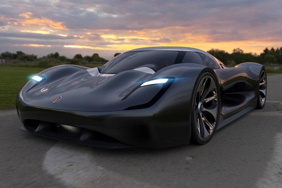 Koenigsegg Konigsei Concept Car ist ein königliches Lösegeld wert