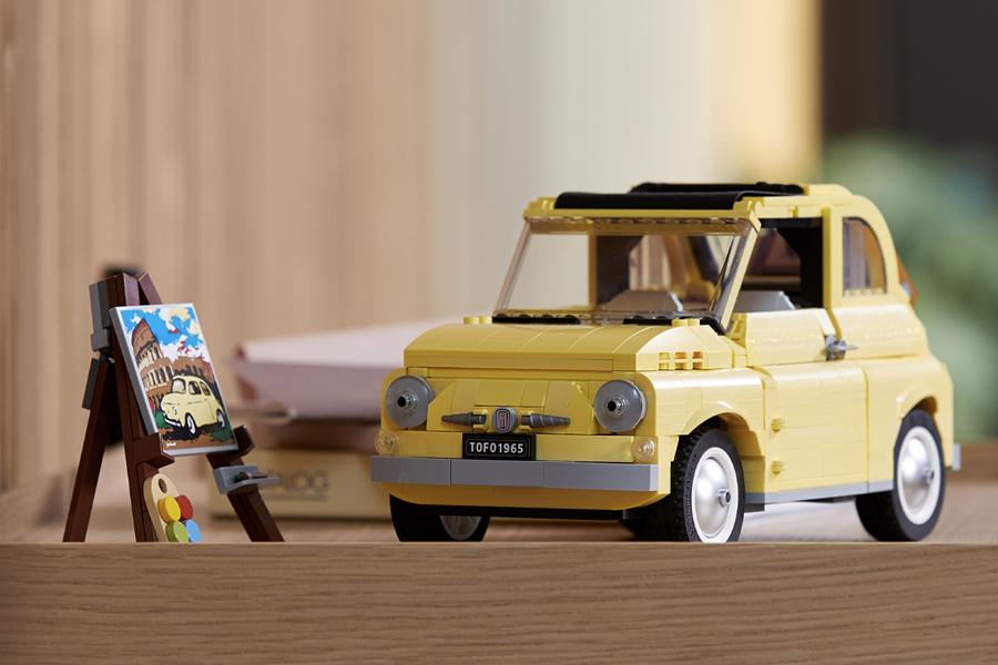 LEGO wird mit dem legendären Fiat 500 Creator Set europäisch