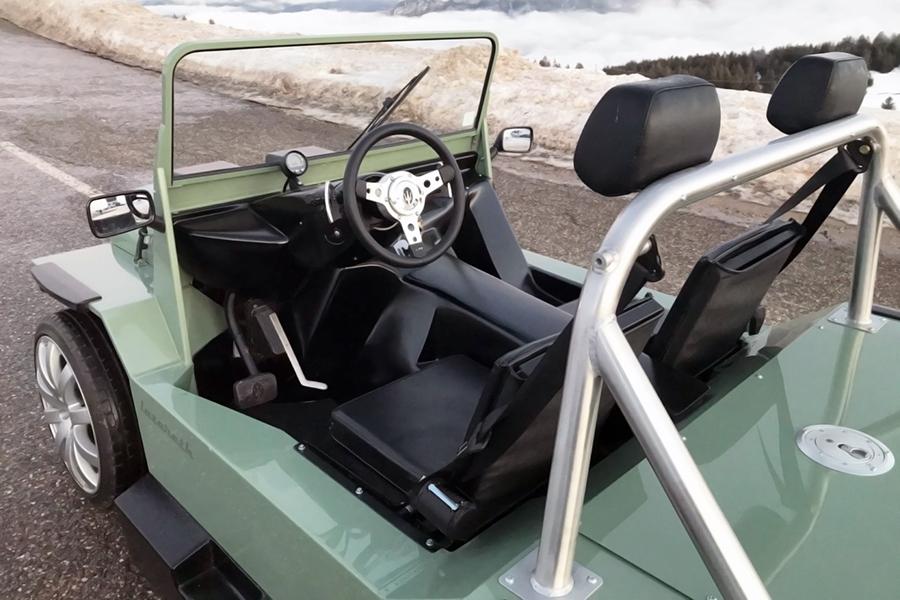 Mini V8M von Lazareth Lenkrad