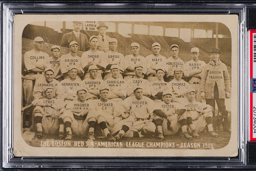 Seltene Ty Cobb Rookie-Karte verkauft für USD $ 300.000