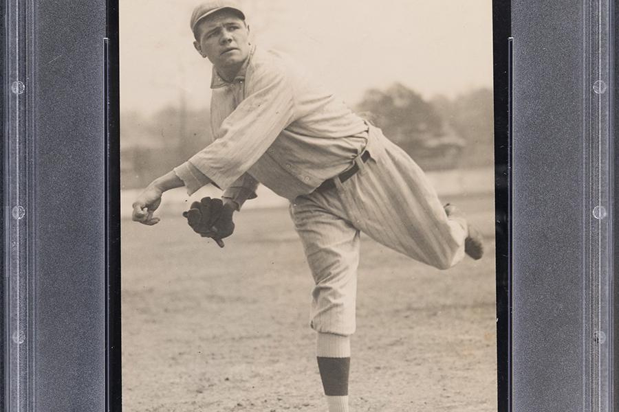 Seltene Babe Ruth Ty Cobb Rookie Karten Online-Auktion