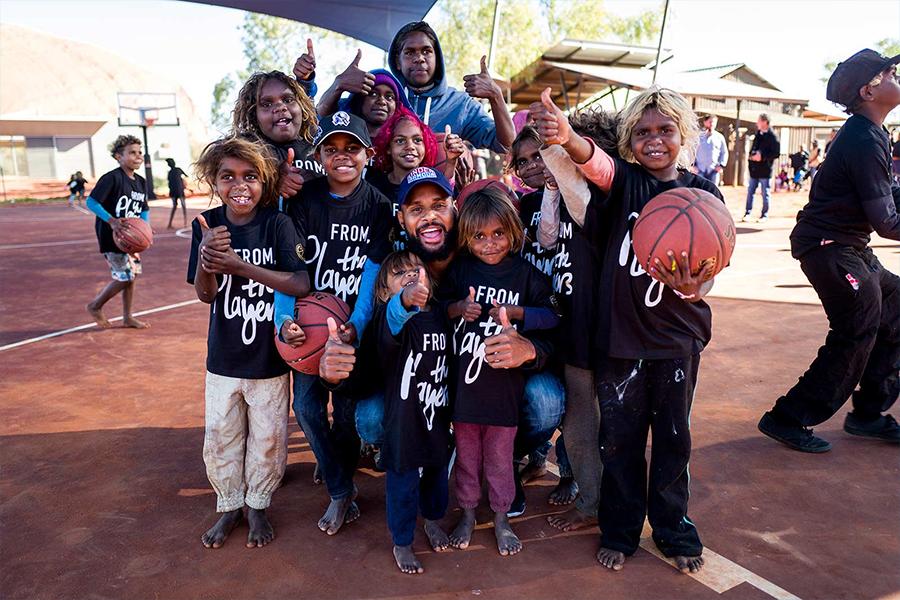 1 Patty Mills gründet die Team Mills Foundation
