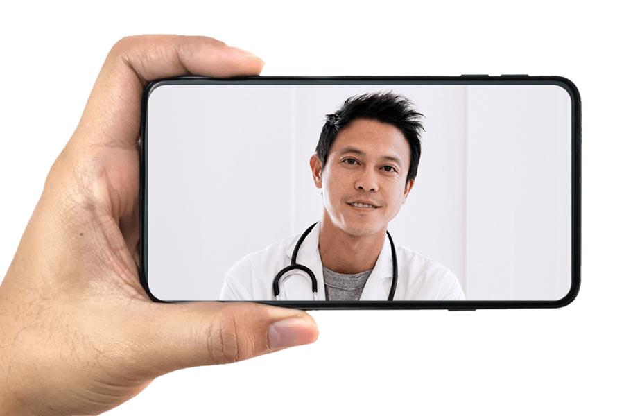 Vault bietet Ihnen Online-Zugang zu Top-Gesundheitsexperten für Männer