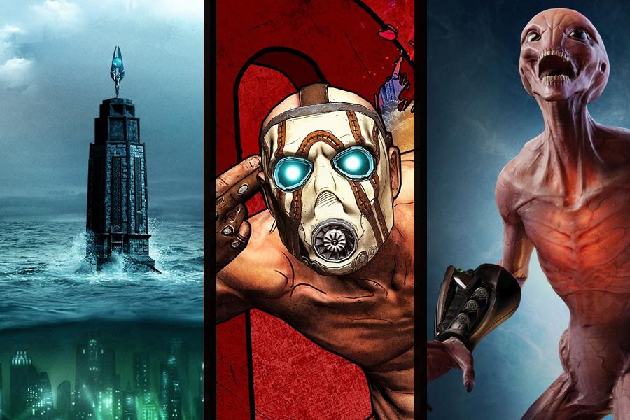 Bioshock-, XCOM 2- und Borderlands-Sammlungen sind jetzt auf Nintendo Switch verfügbar