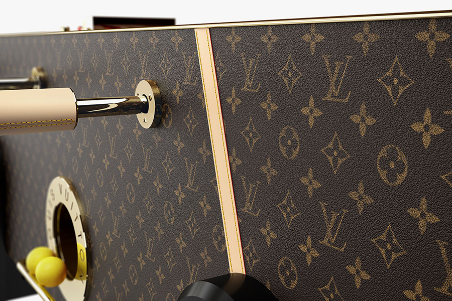 Louis Vuitton Tischfußball Tischwand