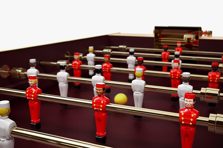 Louis Vuitton Tischfußball Tischteile