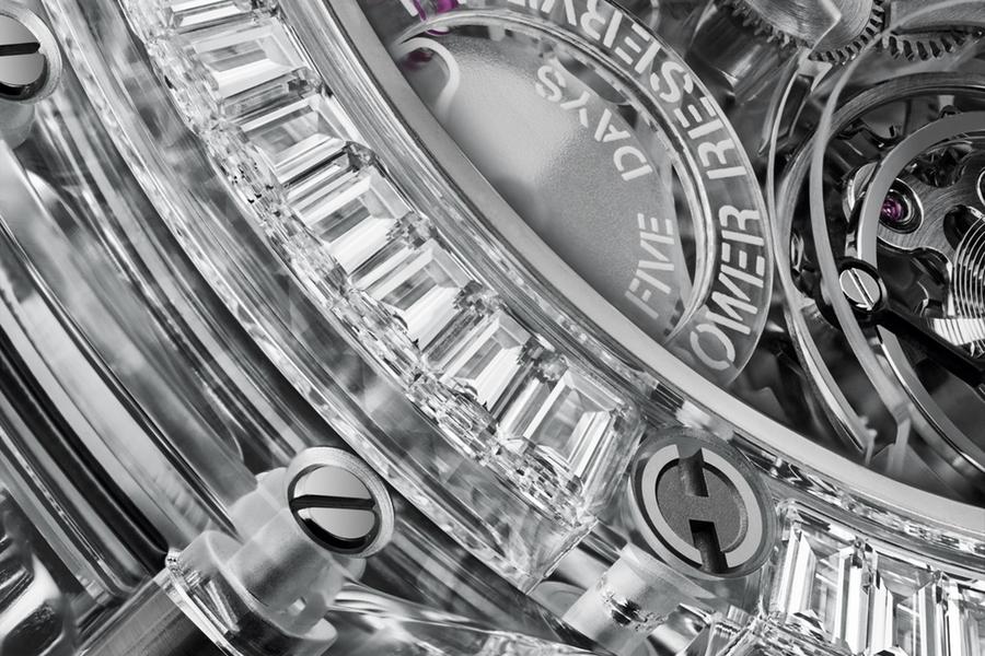 Detail der Hublot Sapphire Watch Collection